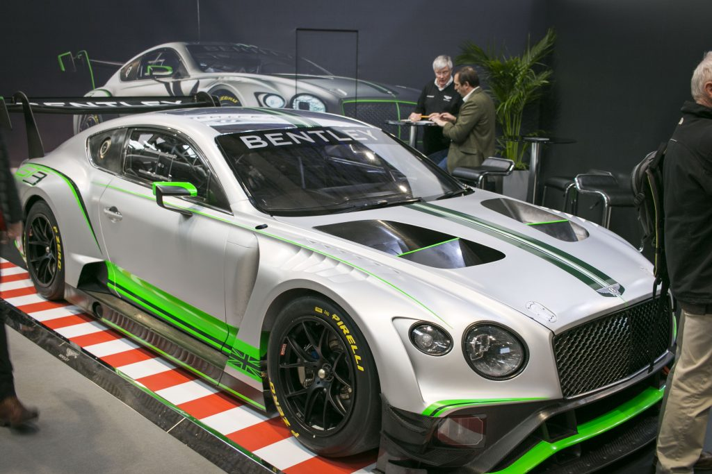 Autosport International 2018 Bentley Continental Gt3