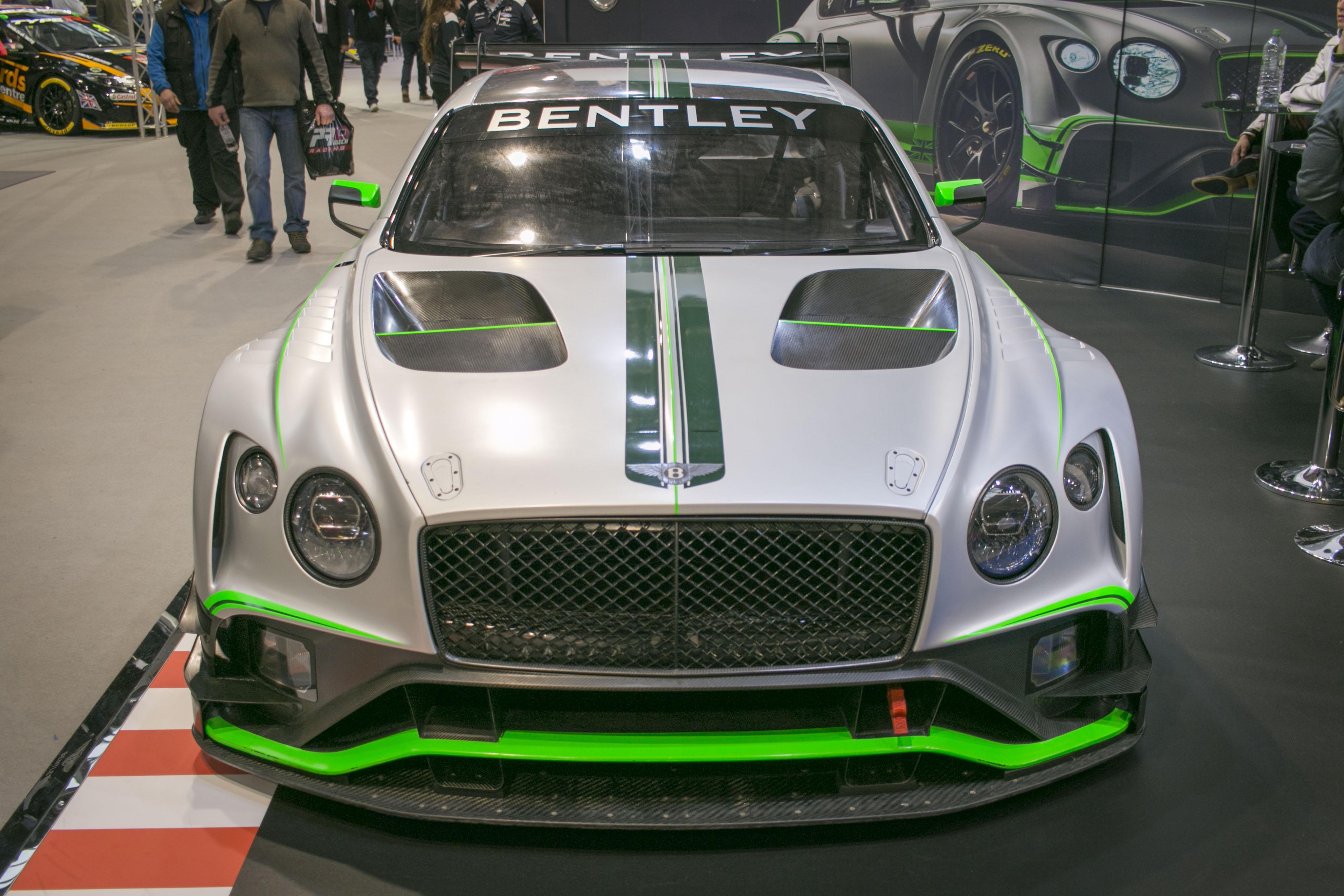 Autosport International 2018 Bentley Continental GT3