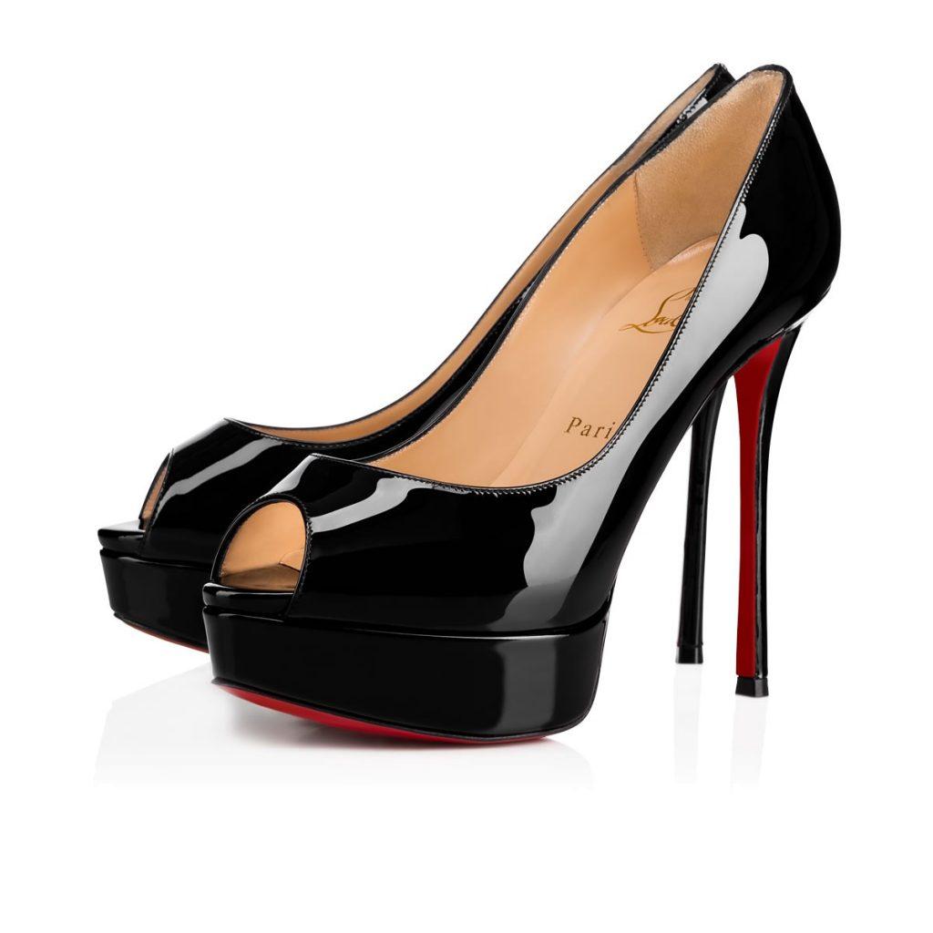 Really. christian louboutins fetish heel