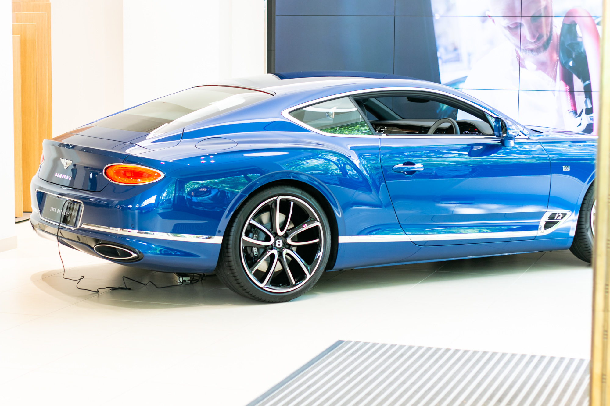 The New Bentley Continental Gt At Hr Owen London